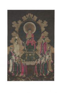 「熾盛光如来像」元時代 所蔵:京都・誓願寺