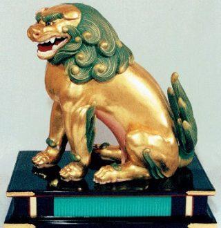 京都市歴史資料館 スポット展示「福王子神社の獅子と狛犬」