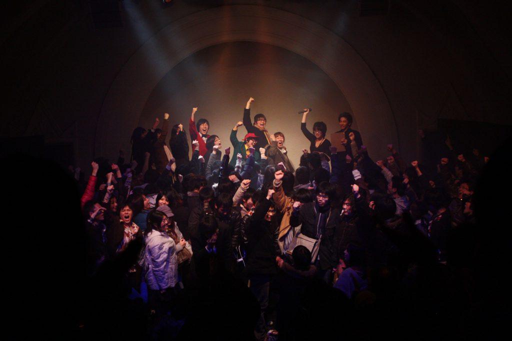 1回目の京都学生演劇祭の閉会式