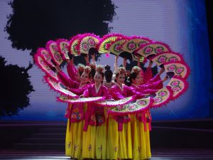 大邱の公演「花扇舞」