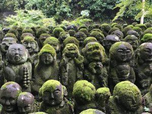 愛宕念仏寺の羅漢像